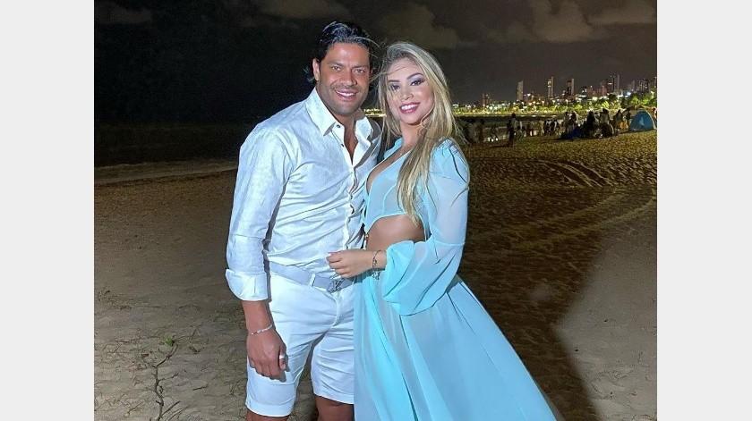 Futbolista 'Hulk' se casó con la sobrina de su ex esposa.(Instagram)