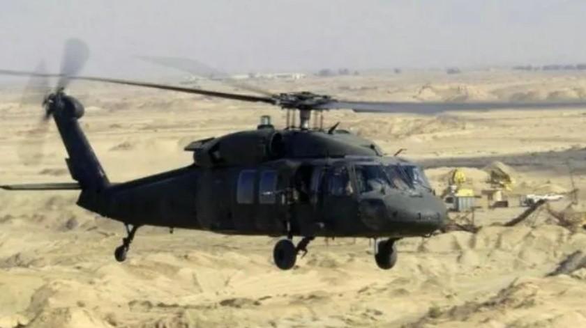 Muere policía por desplome de helicóptero de Semar; hay 20 heridos(GH)
