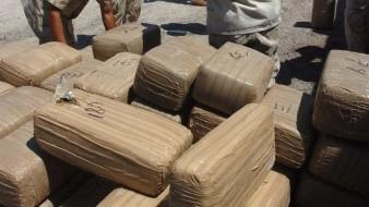 Aseguran militares avioneta con droga en ejido Sonora
