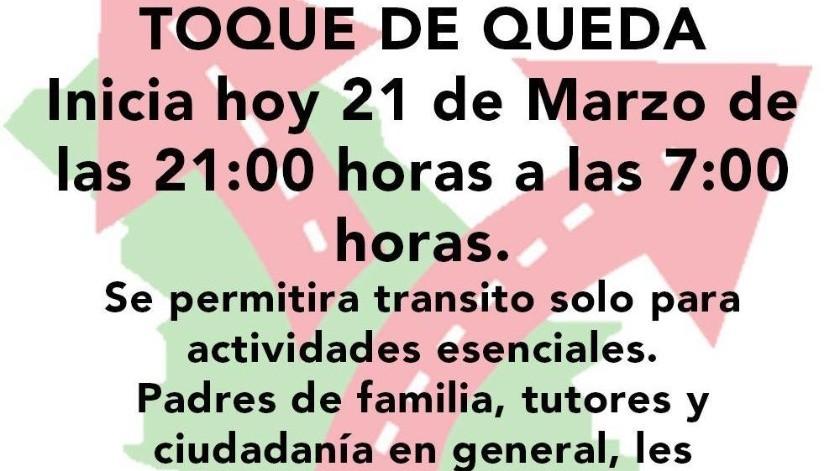 Santa Ana anuncia toque de queda por coronavirus; ya son 4 municipios sonorenses