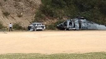 Helicóptero de Semar caído participaba en operativo: Fiscalía de Veracruz