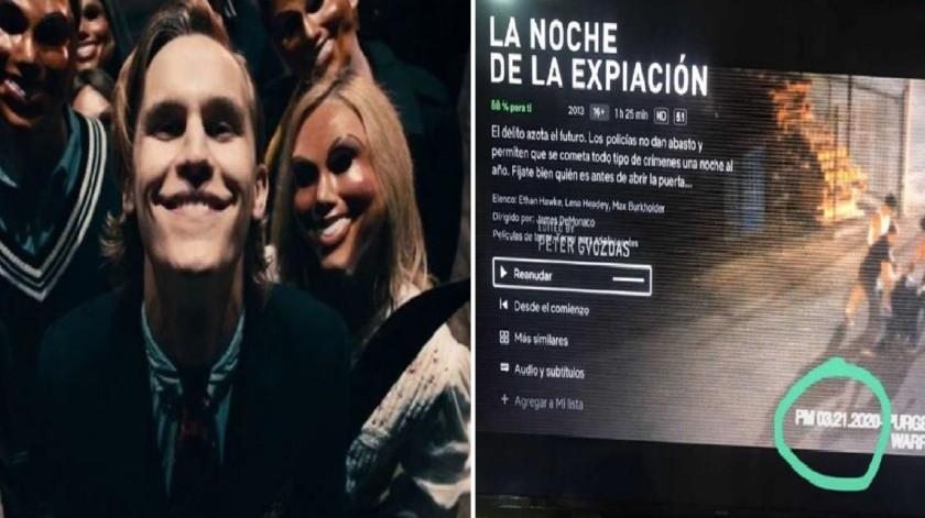 """¡Es hoy! """"La Purga"""" inicia este 21 de marzo de 2020, según la película de terror(GH)"""
