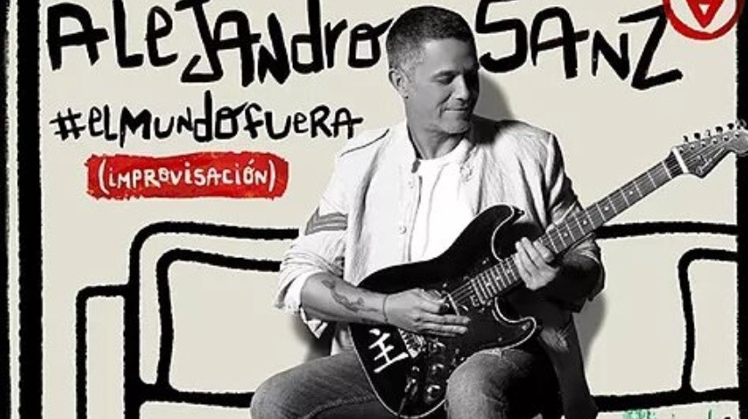"""Alejandro Sanz lanza """"El mundo fuera"""", una canción creada desde el encierro"""