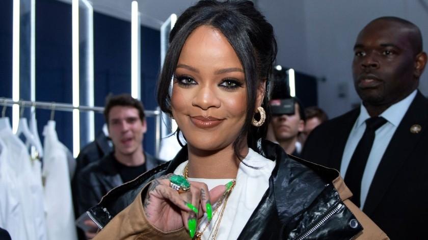 Rihanna.(Tomada de la red)