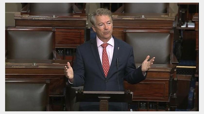 Rand Paul es el primer senador de la cámara alta en anunciar este padecimiento.(AP)