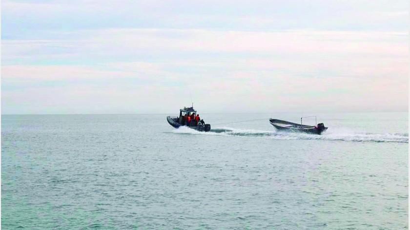 Panga de pescadores se hunde en el Golfo, muere uno y otro está desparecido(Archivo)