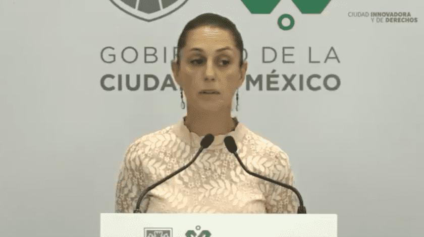 Claudia Sheinbaum, Jefa de Gobierno de la Ciudad de México(Cuenta Oficial de Twitter @Claudiashein)