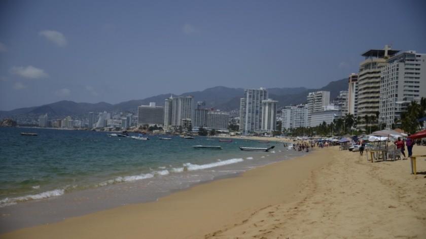 Playas de Acapulco, Guerrero(Agencia Reforma)