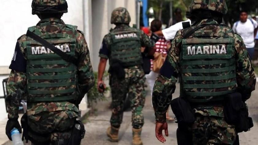 Elementos de la Marina detectaron la red de evasión fiscal en Tuxpan, Veracruz.