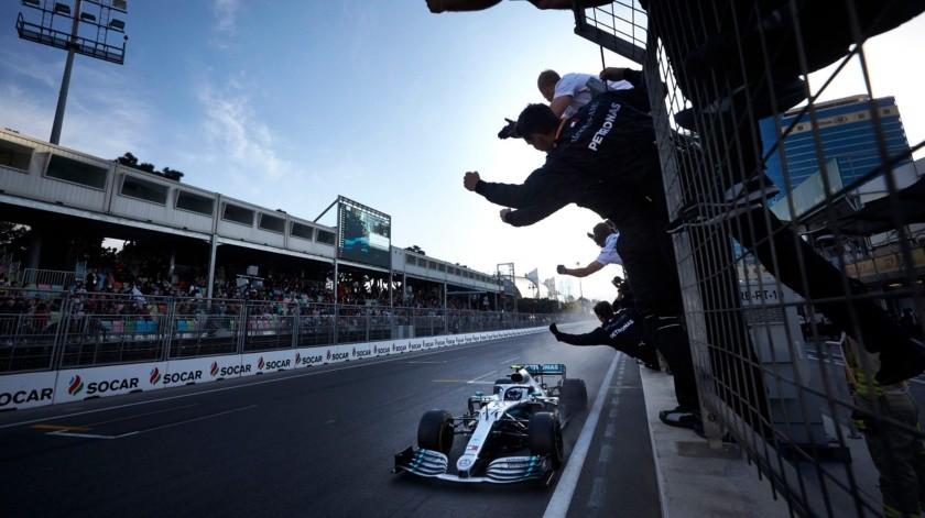 Fórmula 1 anuncia suspensión de GP de Azerbaiyán.(Twitter)