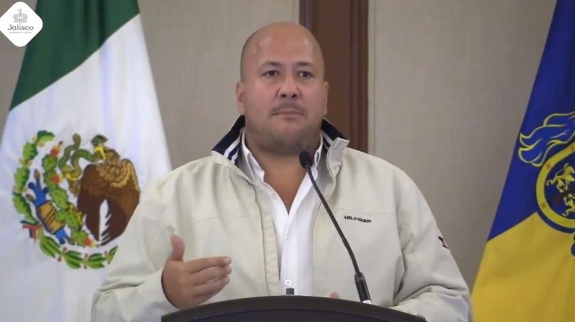 El gobernador Enrique Alfaro confirmó que Jalisco registró el primer fallecimiento por coronavirus, sumando 3 en todo el País.(Captura de video.)
