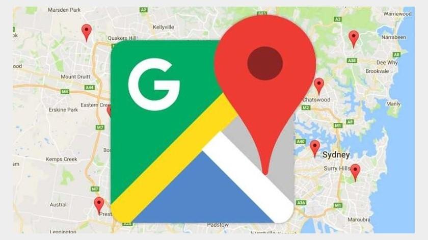 Google maps(Twitter)