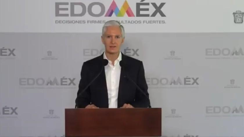 Edomex anuncia nuevas medidas ante coronavirus(Captura de pantalla)