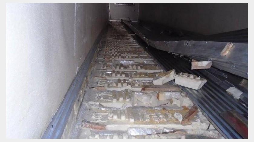 Después de una alerta de un can entrenado en detección de narcóticos localizaron el cargamento con valor de 690 mil dólares.(Especial)