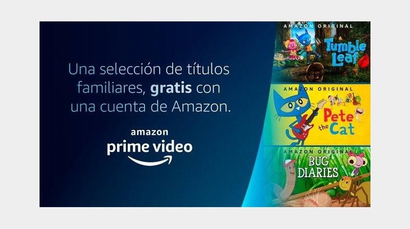Amazon regala 18 series originales en Prime Video