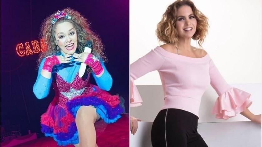 """La """"novia de México"""" y la """"Reina de los niños"""" acordaron en grabar una canción infantil.(Instagram)"""