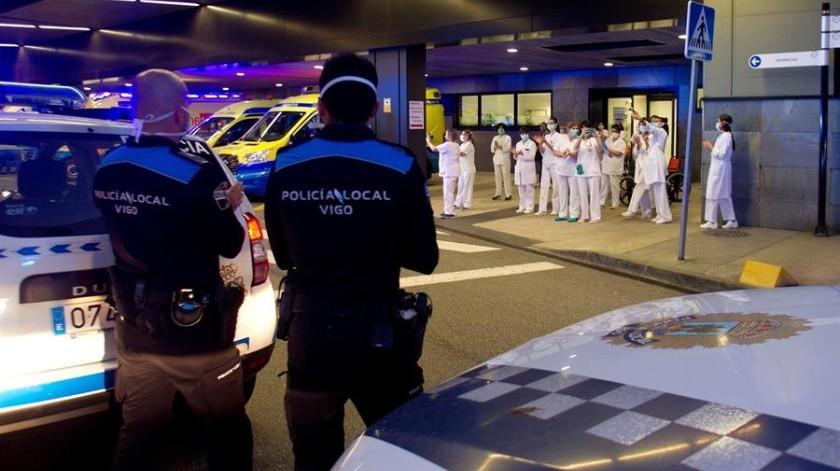 Advierten de pacientes con Covid-19 que escapan de hospitales en España(EFE)