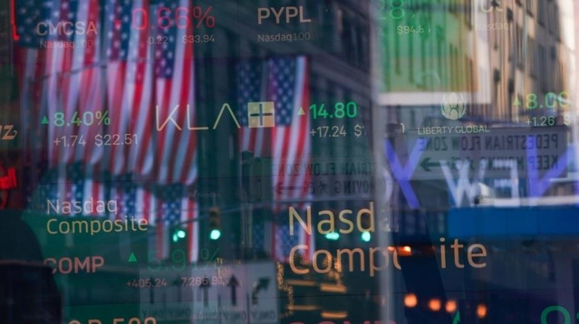 Al término de las operaciones en la Bolsa de Nueva York, el Dow Jones rebotó unos impresionantes 2 mil 112,98 puntos.(EFE)