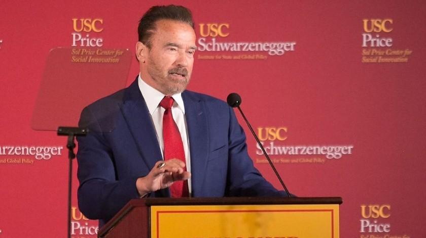 Arnold Schwarzenegger tiene 72 años actualmente.
