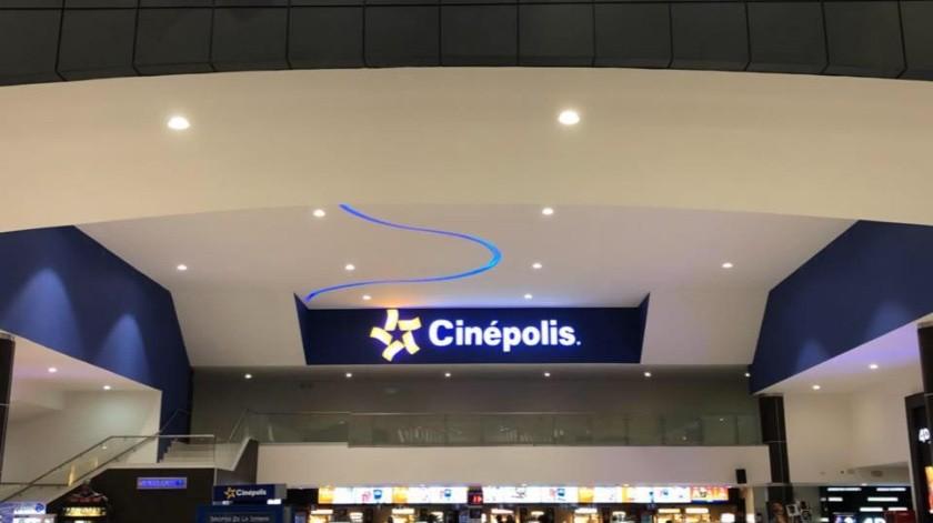 Cierra cinepolis sus salas por Covid-19(Tomada de la red)