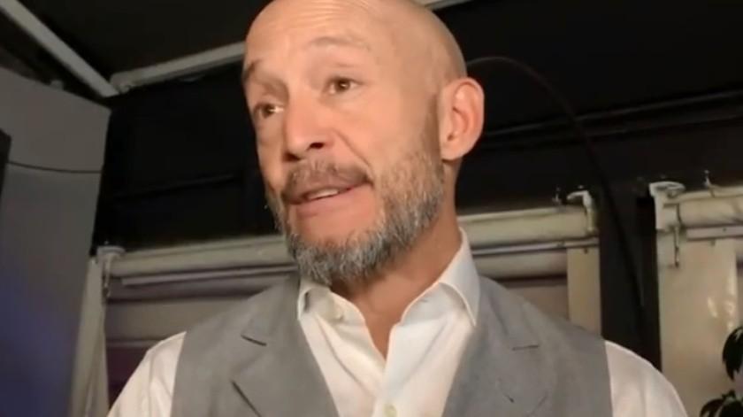 Eduardo Clemesha, vicepresidente de Entretenimiento ignoró la cuarentena y visitó las instalaciones de Televisa.(Captura de vídeo)