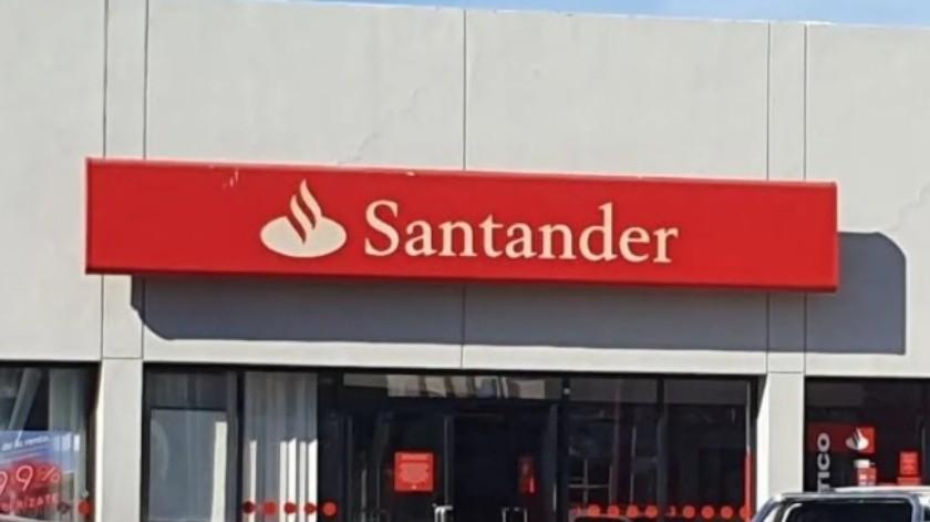 Santander suspende servicios en 84 sucursales por coronavirus(Especial)