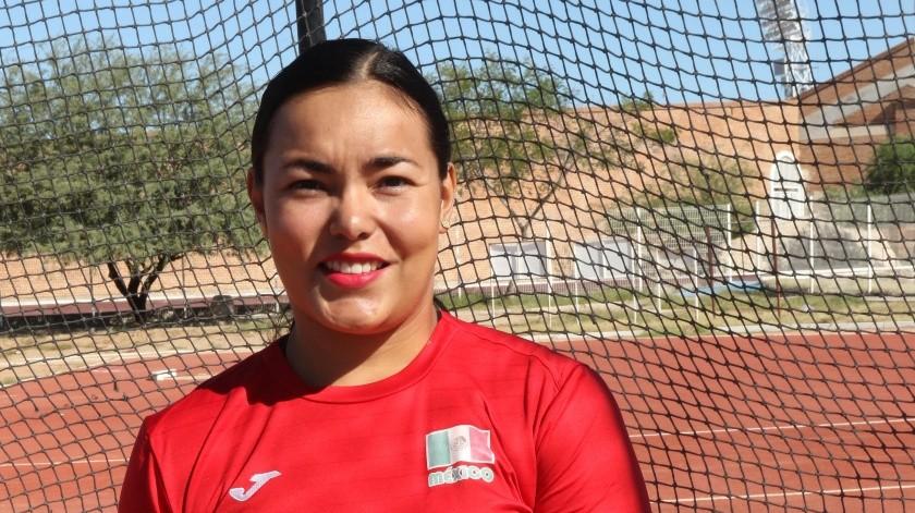 Rebeca tenía en su agenda deportiva a principios de este mes un fogueo de preparación en Emiratos Árabes Unidos; seguido del Grand Prix de Atletismo en Polonia e Italia en mayo(Archivo GH)