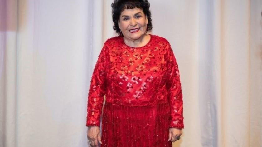 Carmen Salinas(Agencia Reforma)