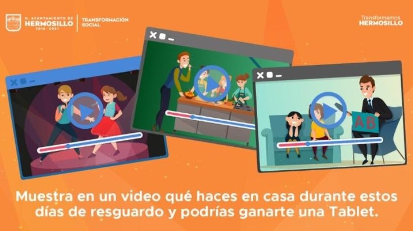 Invitan a adolescentes a crear video desde casa