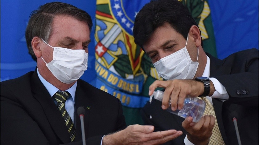 Exige Bolsonaro fin de cuarentena tras menospreciar el Covid-19(GH)