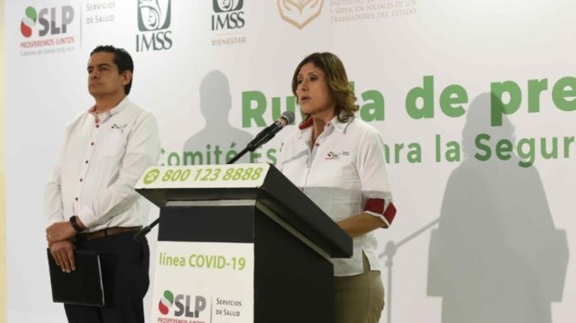 Autoridades de Salud de San Luis Potosí informaron sobre el fallecimiento de un hombre de 70 años por coronavirus.(Facebook)