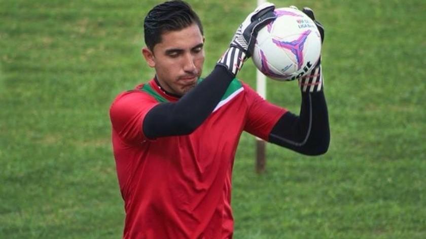 Alejandro Vences, portero que fue baleado, asegura sentirse bien de salud.(Twitter)
