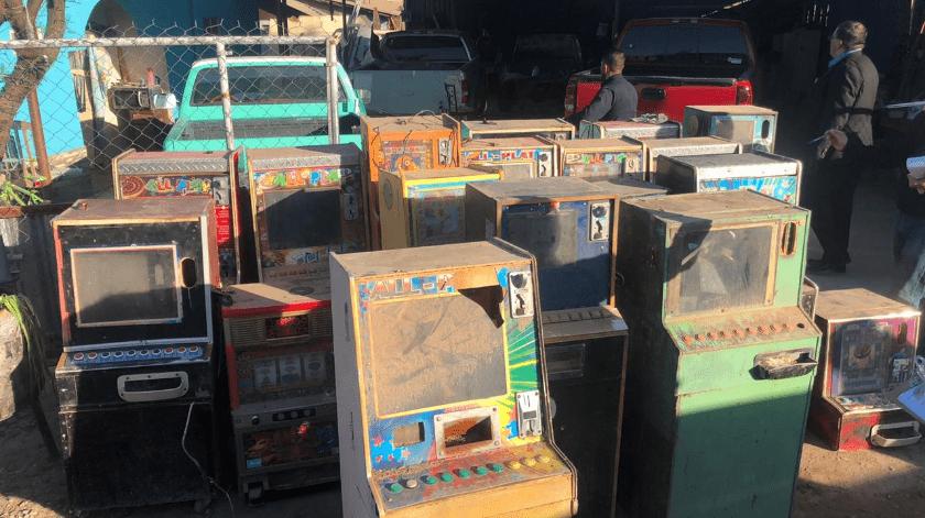 """Revientan más almacenes de """"maquinitas"""" tragamonedas en el valle de Mexicali(Cortesía)"""