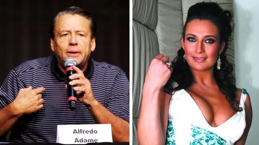 Diana Golden le exige a Alfredo Adame una disculpa pública.(Tomada de la red)