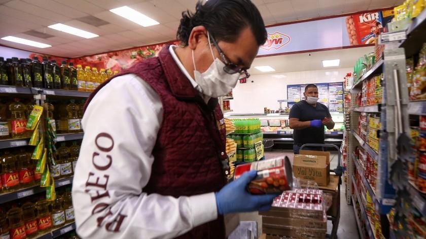 Revisa Profeco tres denuncias por alza de precios en Mexicali(Daniel Resendiz/Víctor Medina)
