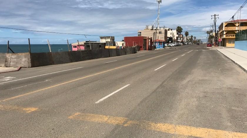 Así luce Tijuana al segundo día de la Fase 2 de la contingencia(Pablo Hurtado)
