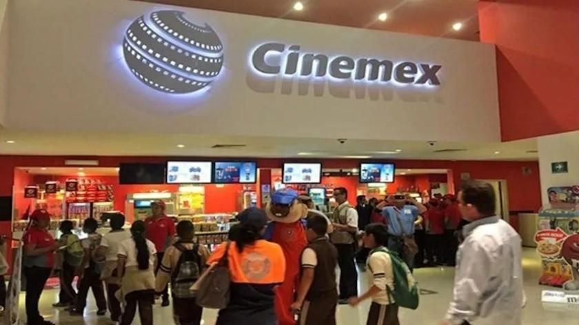 Cinemex anuncia el cierre temporal de sus salas por Covid-19(Especial)