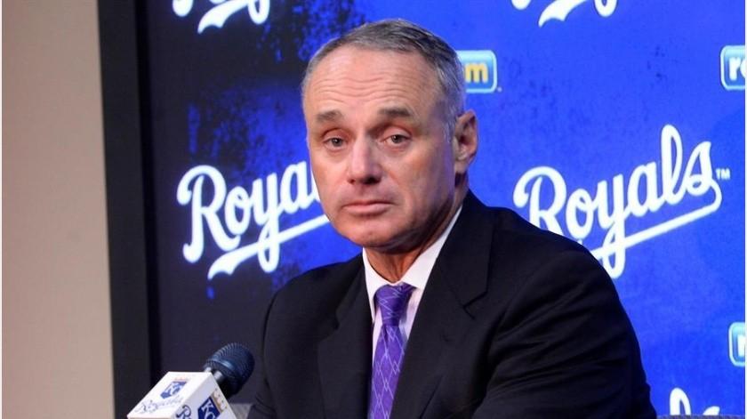 Comisionado de MLB piensa que en mayo pudiera iniciar la temporada(EFE)