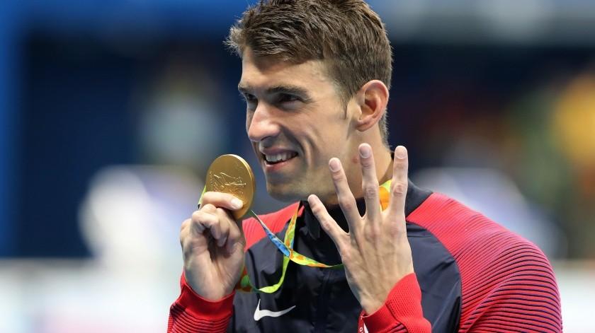 """Michael Phelps espera que """"no haya suicidio en atletas"""" tras posponerse Tokio 2020.(AP)"""