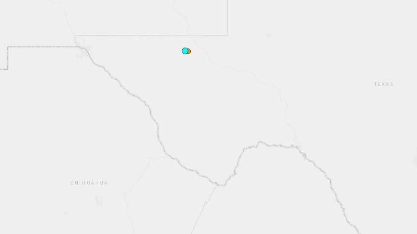 Horas antes, se registró otro sismo de menor magnitud.(Captura)