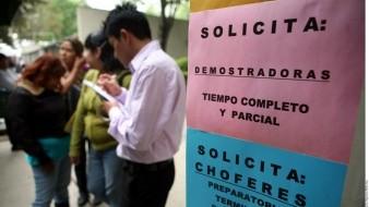 Crece desempleo en México a niveles no vistos desde 2016