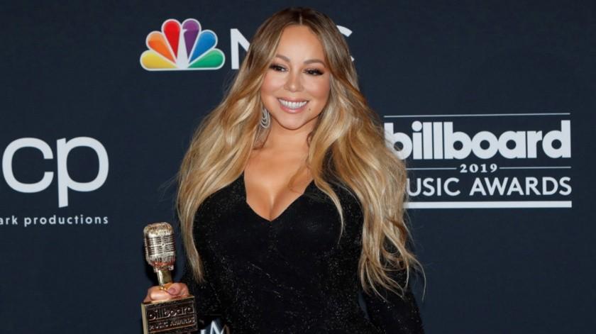 Mariah Carey cumple este viernes 50 años.(EFE)