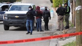 El hallazgo se confirmó a las 8:30 horas en la calle Meconetzin.