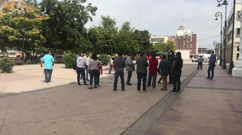 Los taqueros están en reunión con la Secretaria de Gobierno y poder llegar a una mejora.(Yamileth Hernández)