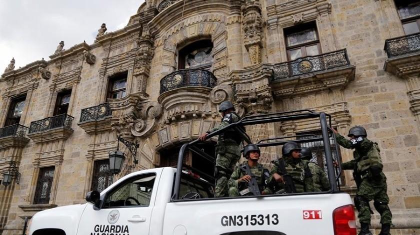 Desde antes de su creación, la Guardia Nacional ha sido un cuerpo de seguridad polémico.(EFE)