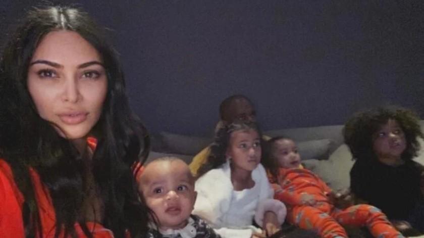 Las Kardashians lucen estilo desaliñado en cuarentena