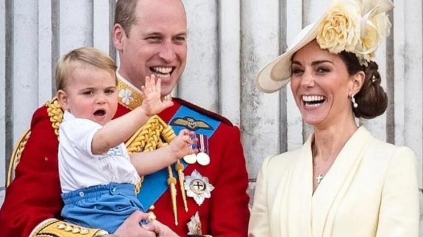 Los hijos de Kate y William aplauden a médicos por pandemia