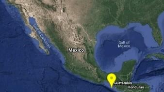 Se registra sismo magnitud 5,1 en Chiapas