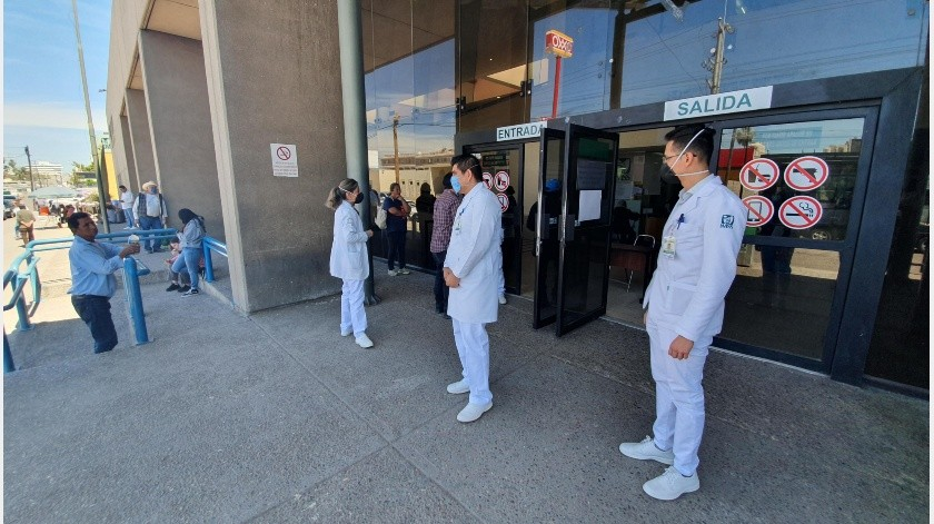 Fue trasladado por equipo médico de Salud Sonora y continuará el protocolo de aislamiento.(Archivo GH/Ilustrativa.)