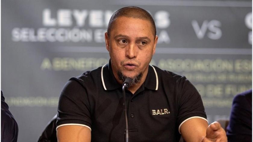 Para Roberto Carlos, Neymar jugaría en el Real Madrid si dependiera de él(EFE)